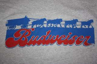 XS / S * vtg 80s BUDWEISER beer shirt * SCREEN STARS