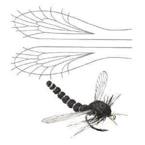 Fly Tying   Caddis, Midge & Hopper Wing   medium wing