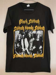 Black Sabbath English Punk ROck Band T Shirt S M L XL