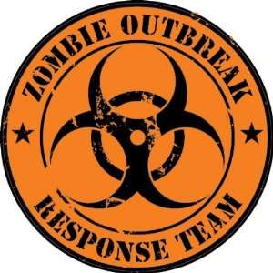 Zombie Outbreak Response Team Decal / Sticker Everything