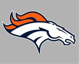 Denver Broncos Auto Car Decal Sticker Vinyl Graphic Wall Art New
