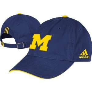 Michigan Wolverines adidas Coachs Sideline Slouch