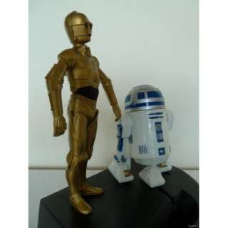 STAR WARS C3PO & R2D2 Electronic Lighted Bank Toy Collectible Banks