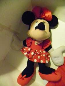 Disney Minnie Mouse Large Stuffed Plush 30 Huge Mickey