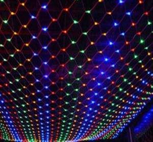 100 LED Net Multi Color String Fairy Light Xmas/Christmas Party Garden