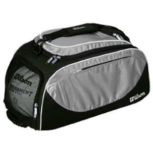 Wilson Volleyball Player Travel Bag/Backpacks BLACK/SILVER 23 L X 10.5