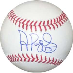 Albert Pujols Signed Ball   Autographed Baseballs  Sports