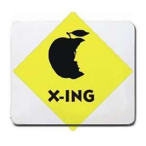 SENIOR CITIZEN CROSSING Mousepad: Office Products