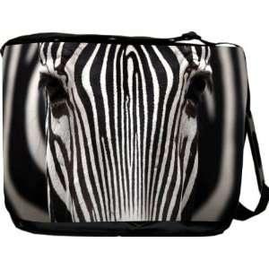 Rikki KnightTM Sebra Illusion Messenger Bag   Book Bag