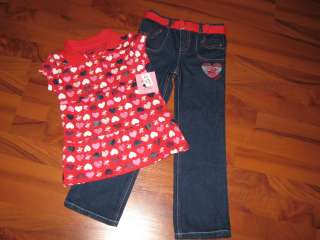 NEW GIRLS SIZE 5 5/6 CLOTHES LOT POLO DISNEY BABY PHAT HELLO KITTY