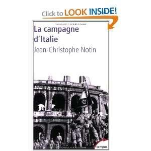 CAMPAGNE DITALIE #168  LA (9782262026318): Jean