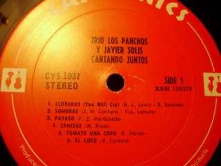 Trio Los Panchos Y Javier Solis   Cantando Juntos LP