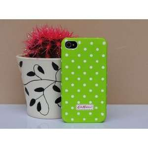 com Cath Kidston Green Classic Dots Pattern back hard case for iphone