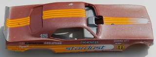 RESIN PLYMOUTH CUDA DRAG RACE FUNNY CAR STARDUST MOPAR 70 71 72 73 74
