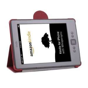 LEATHER SKIN CASE COVER WITH STAND FOR  KINDLE 4 Electronics