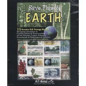 Stamp Collecting Pack Saving Planet Earth Environment Stamps: Toys