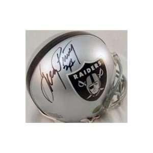 Greg Pruitt autographed Football Mini Helmet (Oakland