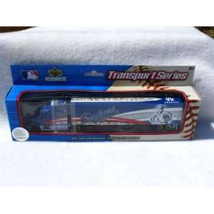 LOS ANGELES DODGERS MLB SEMI DIECAST TRACTOR TRAILER TRUCK by