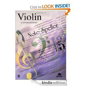 Violin Note Speller 0 Janowsky, Edward  Kindle Store