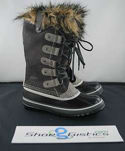Sorel Women Joan of Arctic Waterproof Snow Winter Shale NL1540 051 NEW