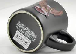 HARLEY DAVIDSON EAGLE SOARS 10OZ COFFE MUG NEW ENCORE