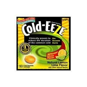 Cold Eeze Cough Suppressant Drops Box with Citrus Flavor