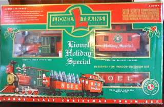 LIONEL G Scale HOLIDAY SPECIAL LARGE SCALE Electric Christmas TRAIN