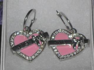 way below pink enamel coat rhinestones great for valentines day