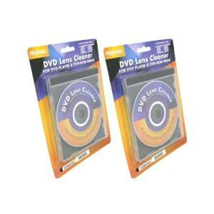 Pack New DVD & DVD ROM Lens Cleaner(1pc x Compact Disc) Electronics
