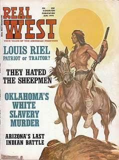 August 1970 Real West Magazine True Tales of the American Frontier