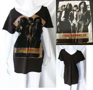 Led Zeppelin 70s HARD ROCK WOMEN TOP T SHIRT TANK M L
