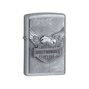 Iron Eagle and Harley Davidson Bar & Shield Zippo Lighter *Free