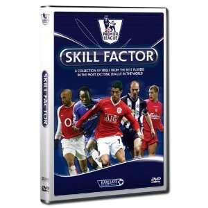 Premier League Skill Factor   DVD DVD 90 MINUTES Sports