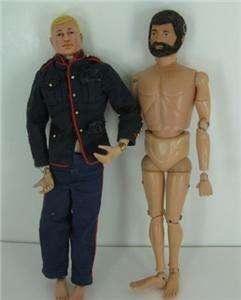 Vintage Hasbro 1964 12 GI Joe Dolls Action Figures