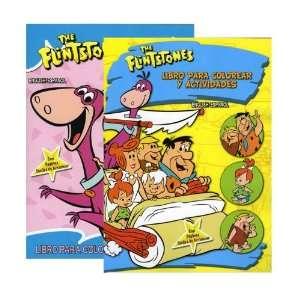 THE FLINSTONES Libro Para Colorear Y Actividades, Case