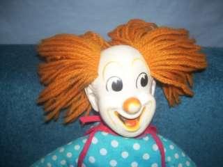 Capitol Records Bozo the Clown Doll 16   19 PICTURES IN DESCRIPTION