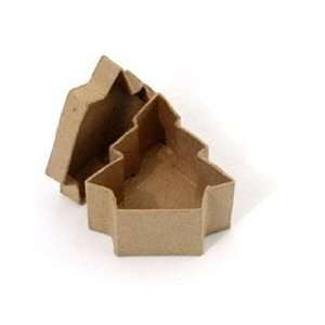 Craft Pedlars Paper Mache Box Mini Tree Arts, Crafts