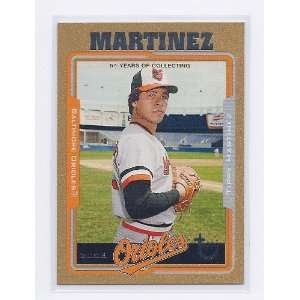 2005 Topps Retired Signature Gold #110 Tippy Martinez