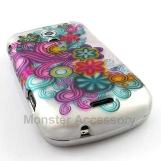 Colorful Flowers Hard Case Cover For Samsung Epic 4G