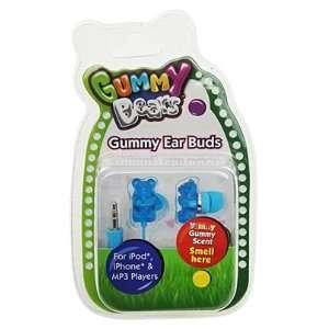 Gummy Bears Gummy Ear Buds Blue Electronics
