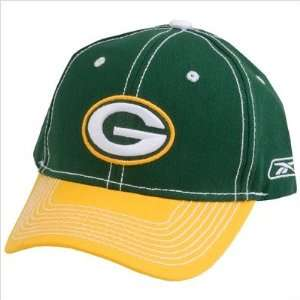 Reebok 143481 NFL Green Bay Packers Face Off Hat Sports