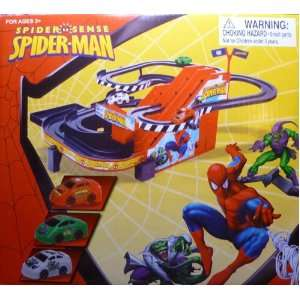 Spider Sense Spider Man Mini Race Track Toys & Games
