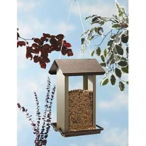 North States 1583 Hanging Metal Hopper Bird Feeder, 3 Pound Seed