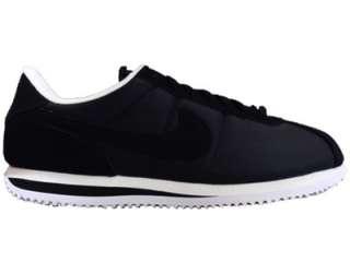 Nike Cortez Basic Nylon Blk Mens Retro Shoes 317249 004