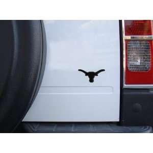 Texas Longhorns Premium Black Metal Auto Emblem Automotive