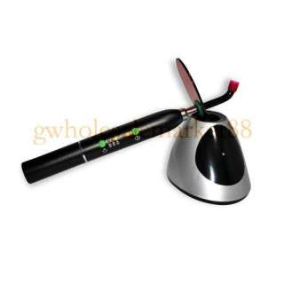 Dental 10 W Wireless Cordless LED Curing Light Lamp 2000mw best offer