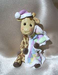 cake topper Chirstmas ornament birthday polymer clay personalized gift
