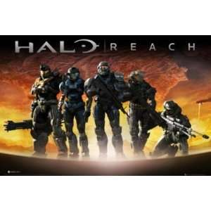 Halo Reach Lava XBOX Video Game Poster 24 x 36 inches
