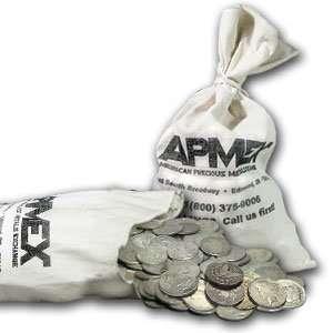 Morgan & Peace Silver Dollars 100 Coin Bag (Cull) Toys & Games