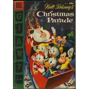 Parade (Dell Giant Comic #8): Scrooge McDuck, Jiminy Cricket: Books